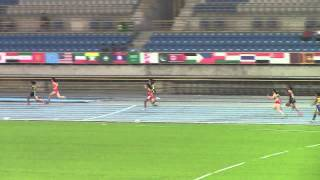 2014 Asian Junior Athletics Championships Final Women 4x100m Relay