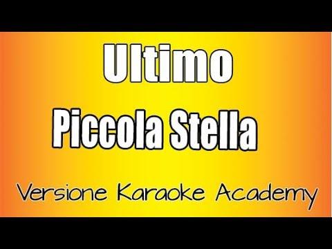 Karaoke Italiano  -  Ultimo  -  Piccola Stella