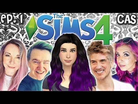 The Sims 4: Raising YouTubers ELDERLY EDITION - Ep 1 (Create A Sim & Retirement Home Tour)