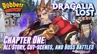 Nintendo Dragalia Lost: Chapter 1 - All Story, Cut-scenes, and Boss Battles **SPOILERS**