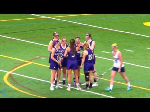 Nashua NORTH vs Nashua SOUTH Girls Varsity LaCrosse 5/6/16