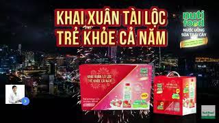 TVC Quảng Cáo Sữa Trái Cây Nutifood Mới! - Khai Xuân Tài Lộc Trẻ Khỏe Cả Năm | Sáng Tạo Bứt Phá!