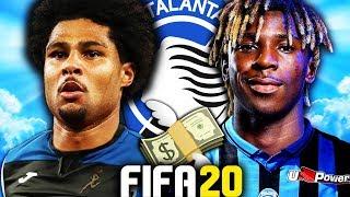 THE ATALANTA CHAMPIONS LEAGUE REBUILD CHALLENGE!!! FIFA 20 Career Mode