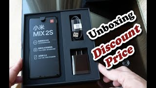 Unboxing Xiaomi MI MIX 2S 4G Phablet From Gearbest - Review Price