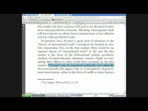 Agora Underground: Power & Market Ch 3. Triangular Intervention; Sec. 3 (d) Pt. 1