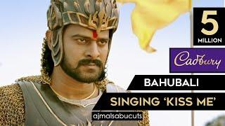 "Bahubali Singing ""Kiss Me"" | Cadbury Silk New Ad | ajmalsabucuts"