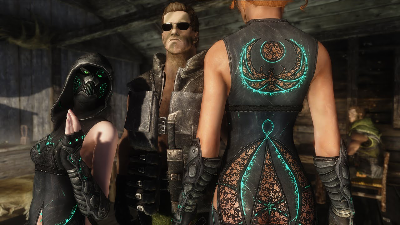 Skyrim Mod Review 64 - Celes Nightingale and Arnold Schwarzenegger -  Series: Boobs and Lubes
