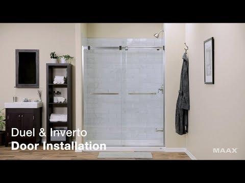 MAAX Duel / Inverto Shower Door – Installation Video