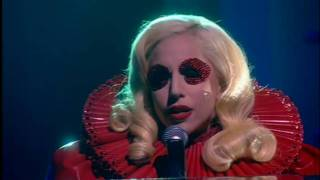 HD Lady GaGa Speechless Acoustic In Blackpool