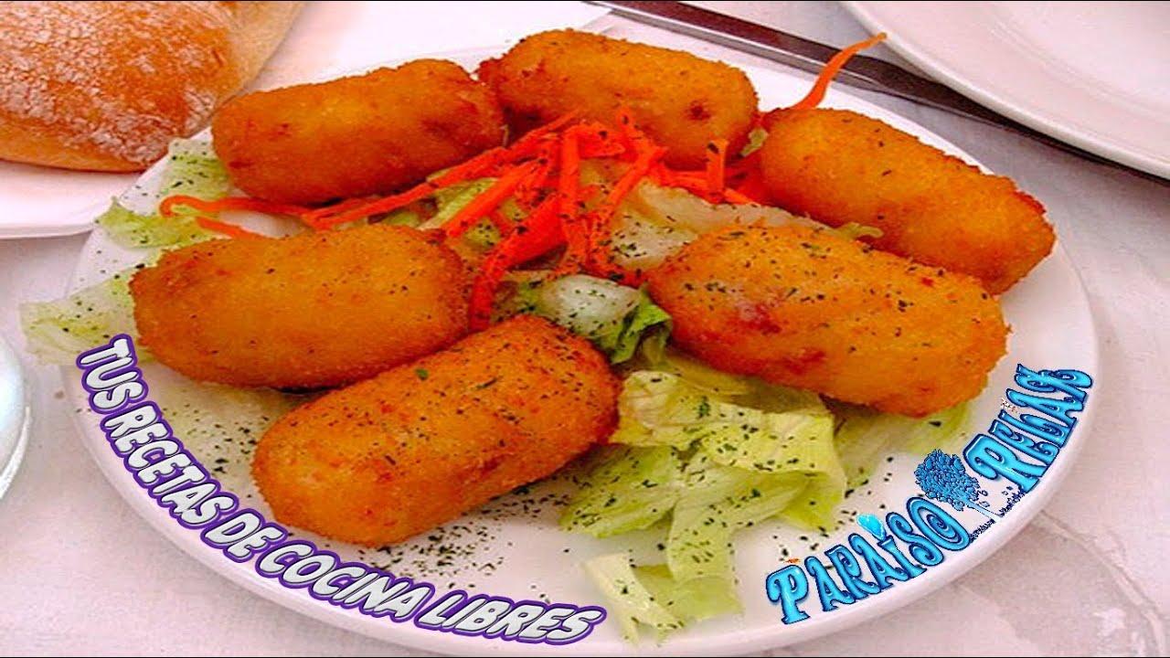 Croquetas Caseras De Pollo O Jamon Recetas De Cocina