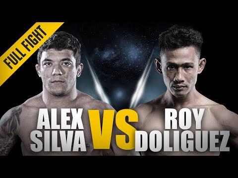 ONE: Full Fight   Alex Silva vs. Roy Doliguez   Impressive Armbar Submission   February 2017