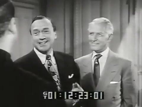 Jack Benny, Joi Lansing, Jean WillesThe Face is Familiar, 1954 TV