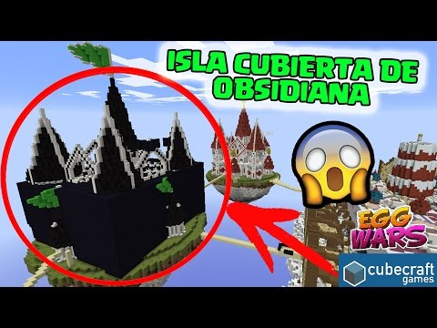RETO ISLA CUBIERTA DE OBSIDIANA TEA PARTY - EGG WARS