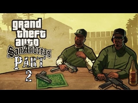 Grand Theft Auto San Andreas Gameplay Walkthrough Part 2: Dude Stole Sweet's Car!