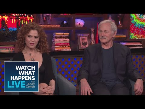 Victor Garber And Bernadette Peters On Theatre Etiquette  WWHL
