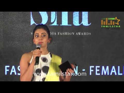 South India Fashion Awards 2017