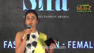 South India Fashion Awards 2017