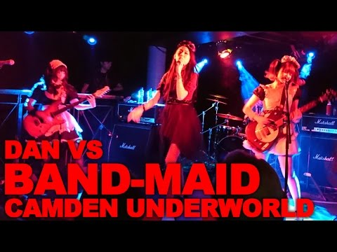 BAND-MAID at Camden Underworld (バンドメイド)
