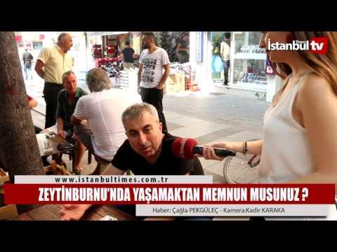 Zeytinburnu'nda yaşamaktan memnun musunuz ?