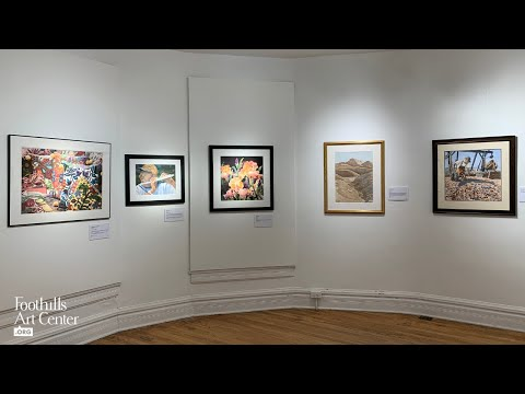 Virtual View of Colorado Watercolor Society State Exhibition