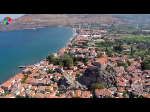 Grecos - Lesbos - Grecja | Lesvos - Greece | Aerial video/drone trip | mixtravel.pl