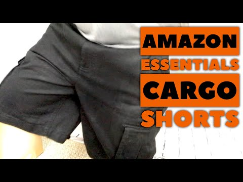 Amazon Essentials Classic-Fit Cargo Shorts Review