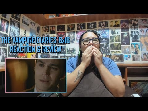 """The Vampire Diaries 8x16 REACTION & REVIEW """"I Was Feeling Epic"""" SERIES FINALE 