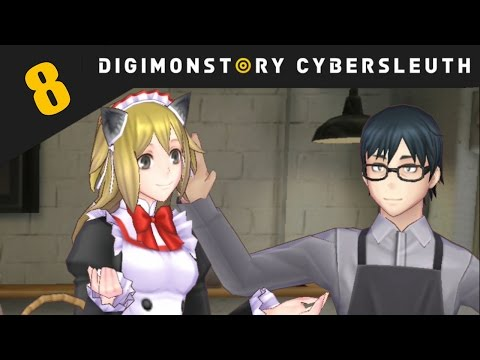 Digimon Story: Cyber Sleuth PS4 / PS Vita Let's Play Walkthrough Part 8 -  Top Quality Beans