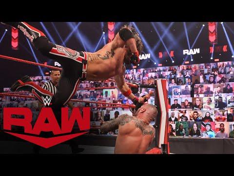 Randy Orton vs. AJ Styles: Raw, Mar. 8, 2021