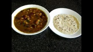 Kidney And Northern Beans Soup (rajma)