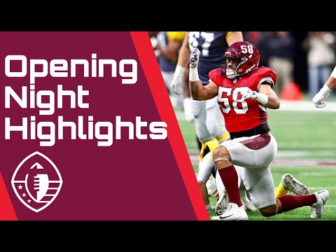 Alliance of American Football Opening Night Highlights