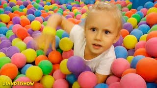 Indoor Playground Family Fun for Kids Play Area for Children, Fun Baby Nursery Rhymes Songs for kids