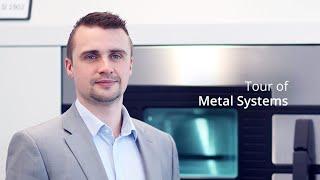 Showroom Tour Metal 3D Printer