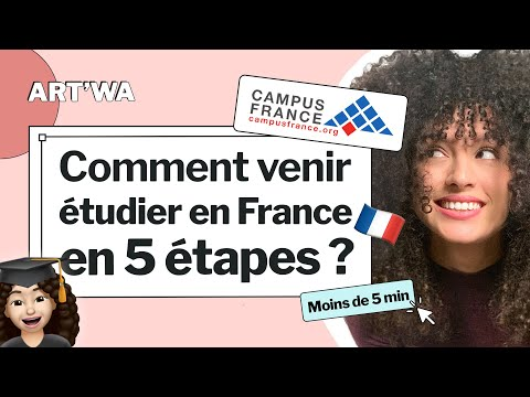 Démarches Campus France en moins de 5 min - كيفاش جيت نقرا في فرنسا 🇫🇷 👩🏻🎓