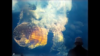 [4k, 50 Fps, Colorized] Hindenburgh Zeppelin Last Trips To New York And Disaster.