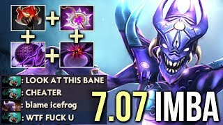 WTF is This Dota 2? New Cancer Talent Tree 7.07 Bane Nullifer by Mski.nb Epic Gameplay Dota 2