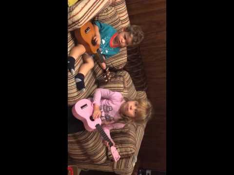 Ben and Evie ukulele