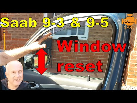 Saab 9-3 How to Fix Power Windows that goes up and reverses on its own