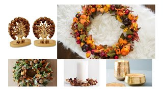 20 Thanksgiving Decor Items To Ready Your House For The Holidays