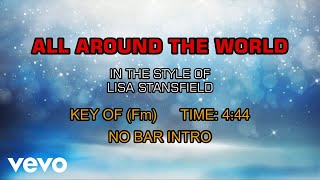 Lisa Stansfield - All Around The World (Karaoke)