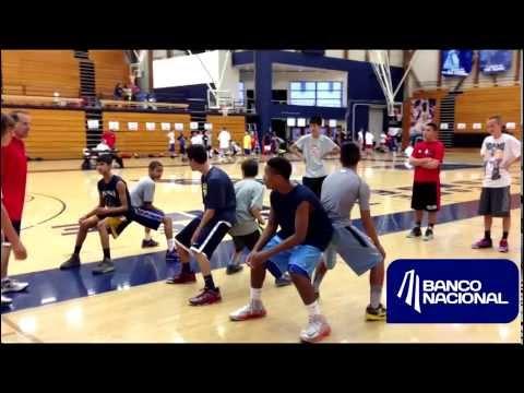 Entrenamientos de Basketball en el Mejor Campamento!