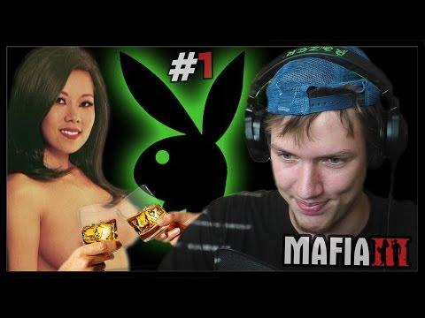 SÚ TU PLEJBOJE! - Mafia 3 #1   SK Let's play   facecam   HD