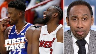 Jimmy Butler is never going to be loved like Dwyane Wade in Miami – Stephen A.   First Take