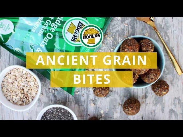Rogers Foods - Chia, Hemp and Ancient Grains Bites Recipe Video