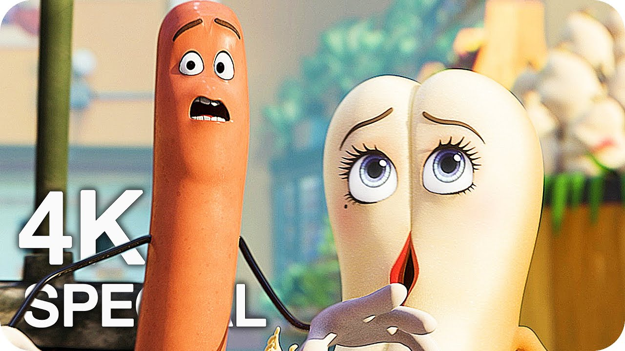 Download SAUSAGE PARTY Clips & Trailer (2016) Animated R-Rated Movie