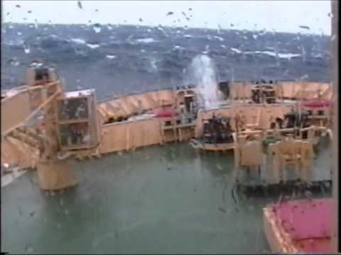 Antarctic Ocean Storm