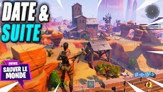 Morne Suite, Date - Bad News! Fortnite Saving the World
