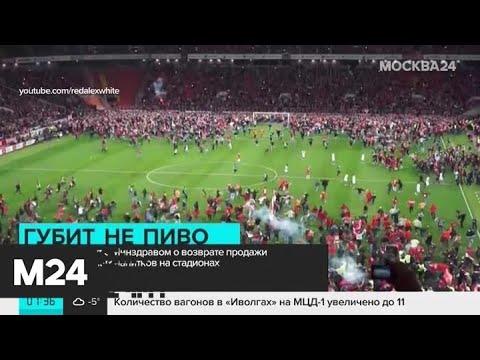 В Госдуме предлагают создать на стадионах места для трезвенников - Москва 24