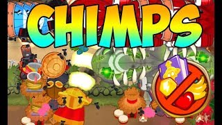 Bloons TD 6 - Firing Range - CHIMPS MODE!