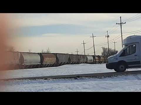 SKOL WAMX 4123 freight train in owasso ok wb